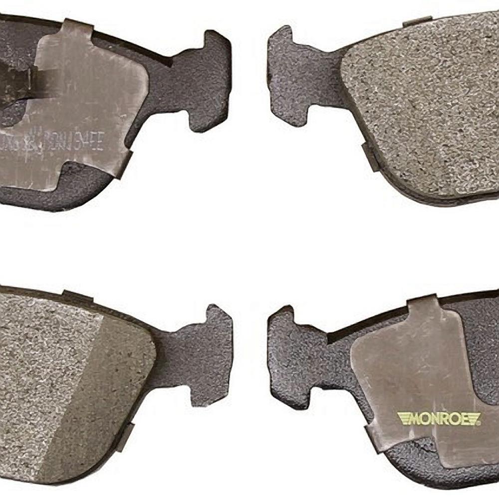 Front Monroe Total Solution Semi-Metallic Brake Pads fits 1993-2004 Volvo C70 850 S70,V70