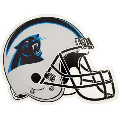 NFL Carolina Panthers Outdoor Helmet Graphic- Small