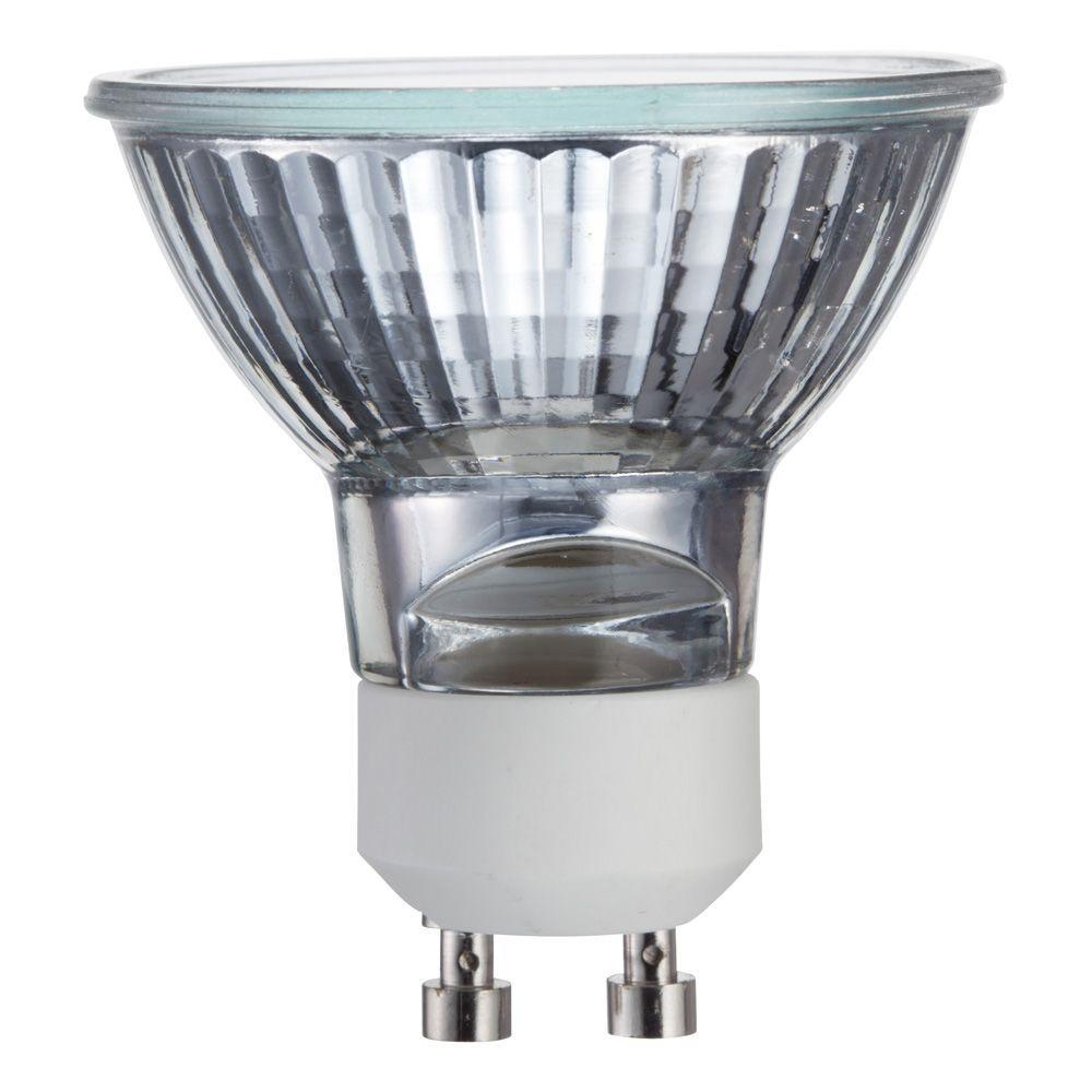 Philips 35-Watt Halogen MR16 GU10 TwistLine Dimmable Flood Light Bulb