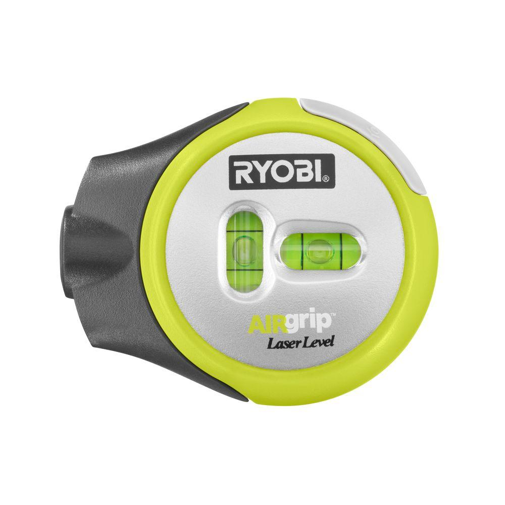 Ryobi Air Grip Compact Laser Level Ell1002 The Home Depot