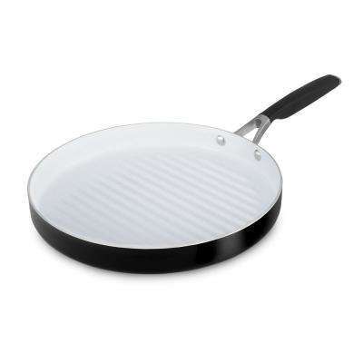 Select 12 in. Ceramic Nonstick Round Grill Pan