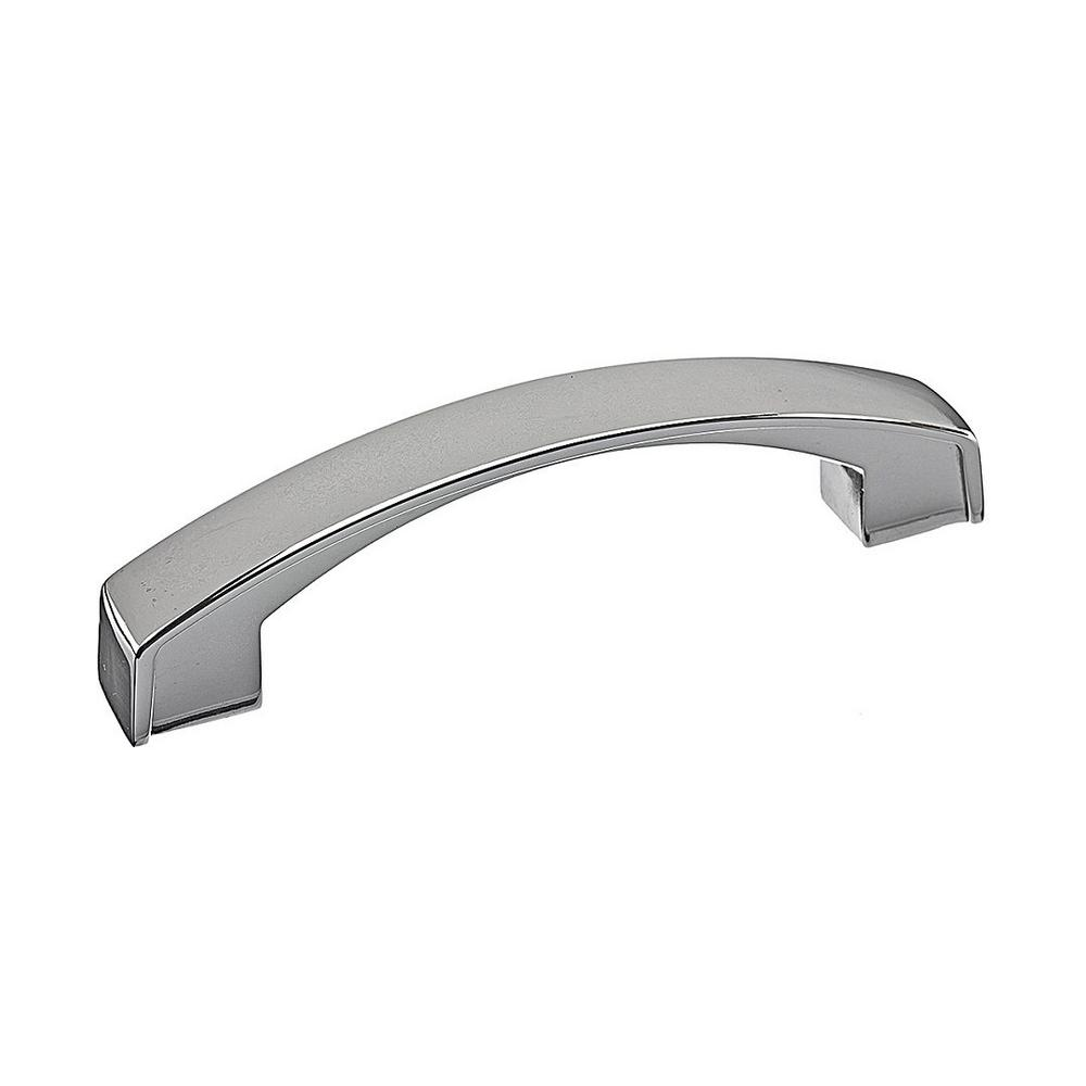 Attirant Richelieu Hardware Transitional 3 In. (76.2 Mm) Chrome Cabinet Pull