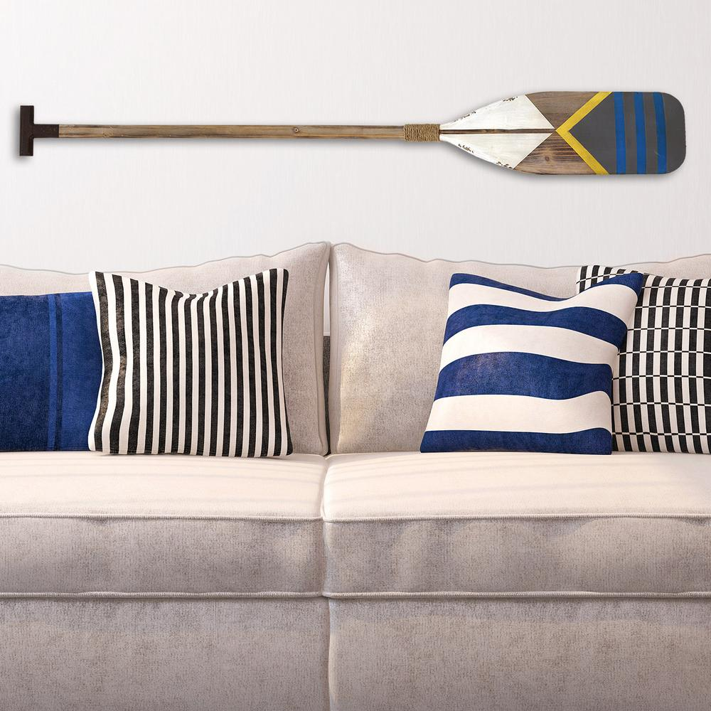 Stratton home decor stratton home decor nautical oar wall for Stratton house