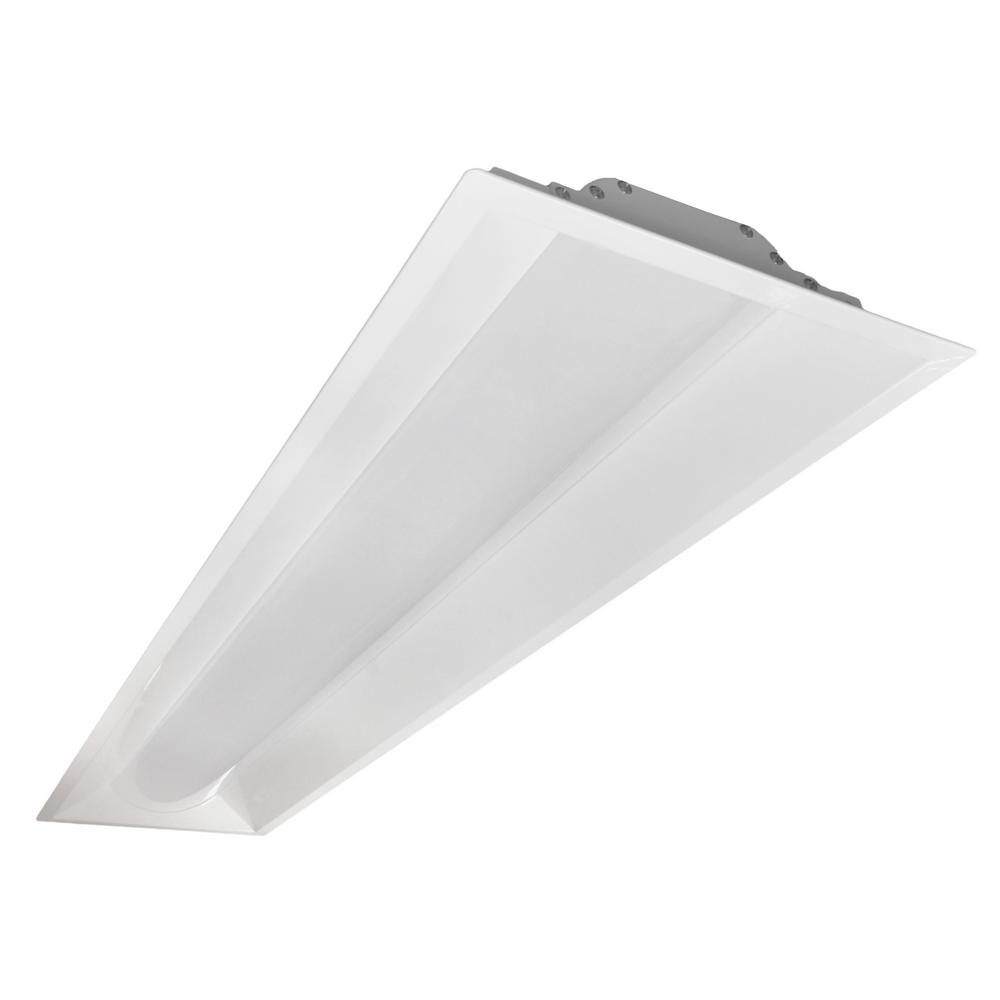 NICOR T3A 1x4 Ft. 150-Watt Equivalent 3500K Integrated LED