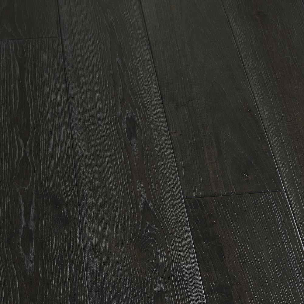 Black Wood Planks ~ Malibu wide plank hickory scripps in thick