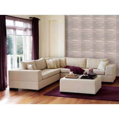 19.6 in. x 19.6 in. Self-Stick Logs Pattern 3D Decorative Wall Tile in White (10-Pack)