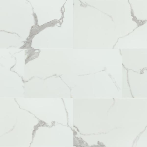 Harvested Marble 12 in. x 24 in. Luxury Vinyl Tile Flooring (23.25 sq. ft./case)
