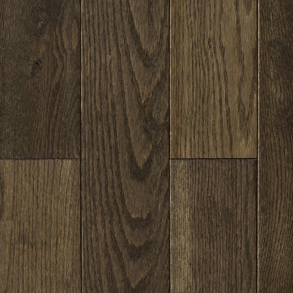 Oak Heritage Grey Hand Sculpted 3/4 in. Thick x 4 in.