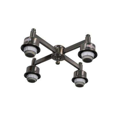 Garrison 52 in. Gunmetal Ceiling Fan Replacement Light Kit
