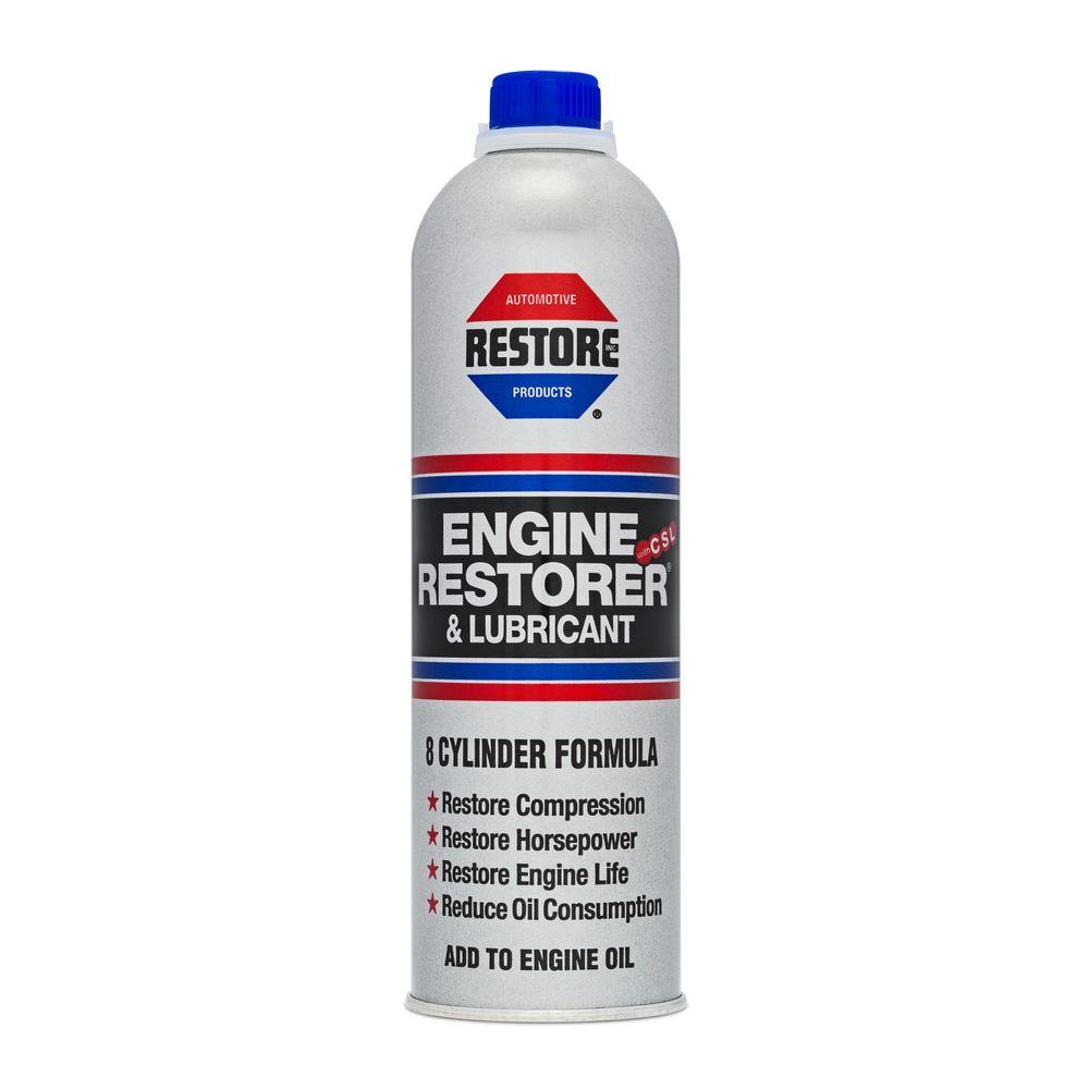 16 fl. oz. 8 Cylinder Engine Restorer and Lubricant