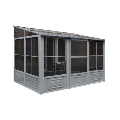 8 ft. x 10 ft. x 12 ft. Aluminum Add-A-Room