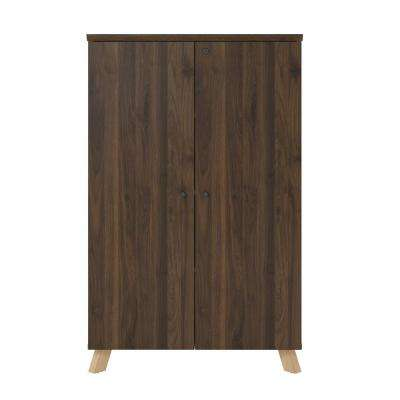 AX1 Walnut Storage Cabinet