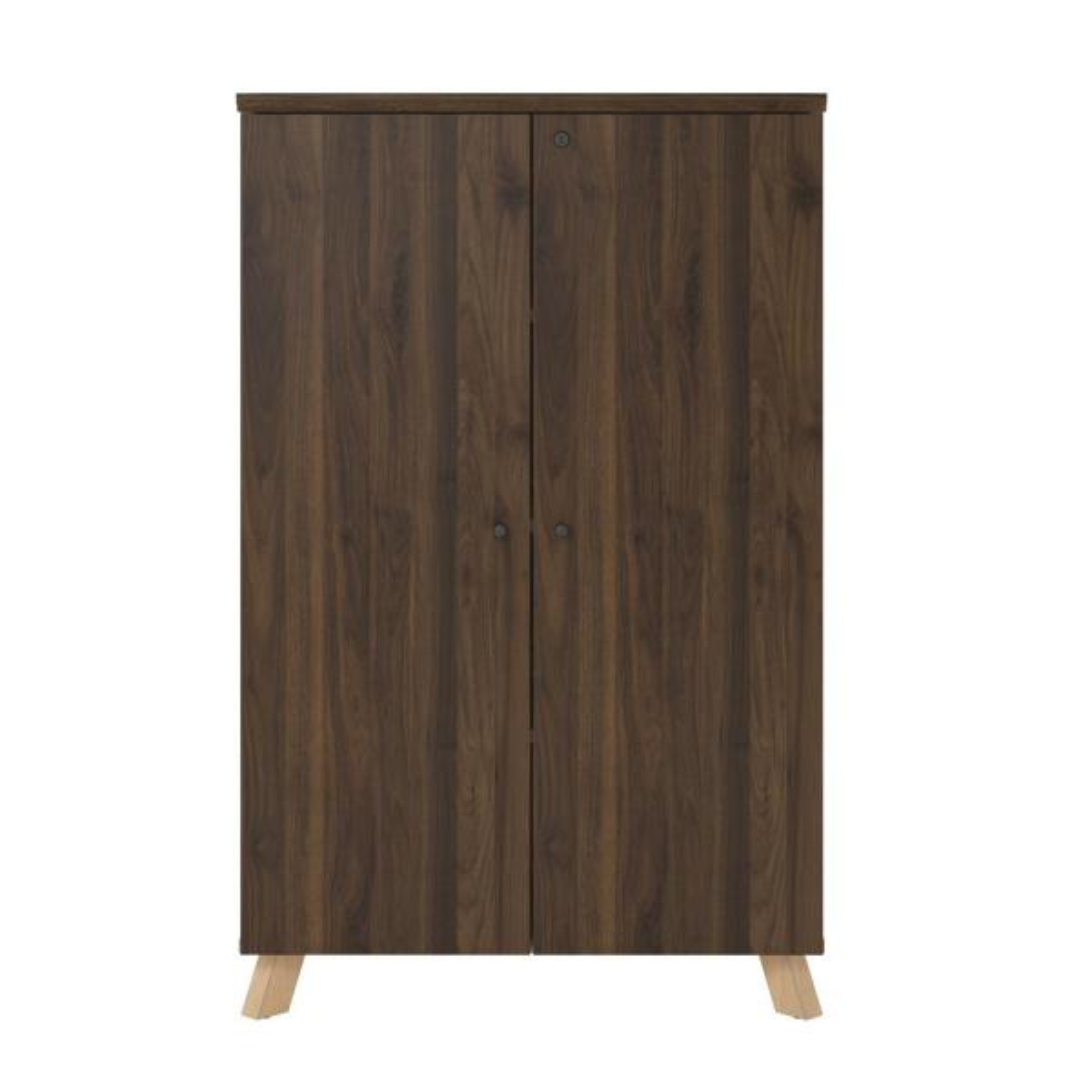 Ameriwood AX1 Walnut Storage Cabinet 9293096COM