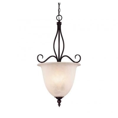 Capri 2-Light English Bronze Pendant