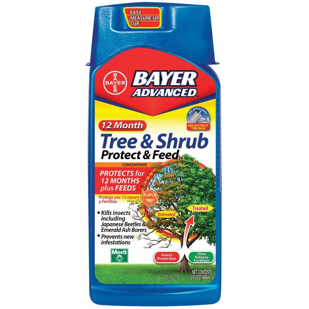 32 oz. Concentrate Tree and Shrub Protect and Feed