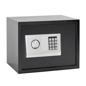 Sandusky Buddy 1.21 cu. ft. Steel Large Home Safe with Electronic Lock, Black by Sandusky