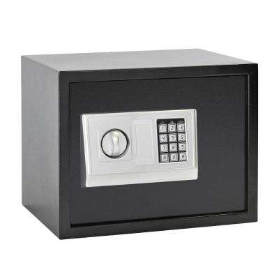 Buddy 1.21 cu. ft. Steel Large Home Safe with Electronic Lock, Black