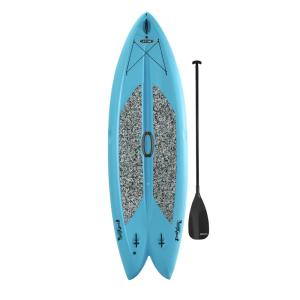 Click here to buy Lifetime Freestyle 9 ft. 8 inch L x 35.5 inch W x 6 inch T Multi-Sport Paddle Board in... by Lifetime.
