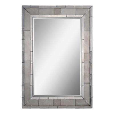 Luna 35 in. x 47 in. Transitional Framed Mirror