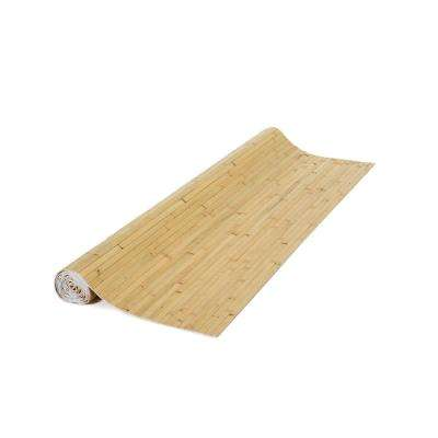 48 in. H x 96 in. L Natural Bamboo Panel