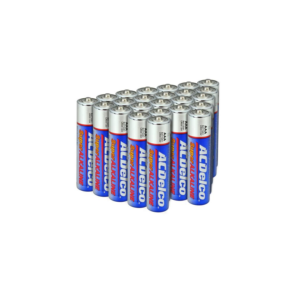 20 Count Each Pack Alkaline Battery ACDelco AA and AAA Batteries
