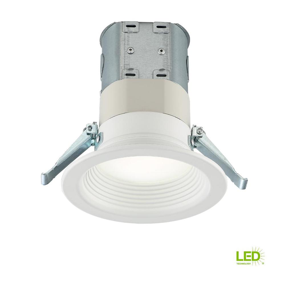 EnviroLite Easy Up 4 In. Day Light LED Recessed Light With