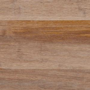 wire brushed strand woven sand 12 in t x 51 - Bamboo Wood Flooring