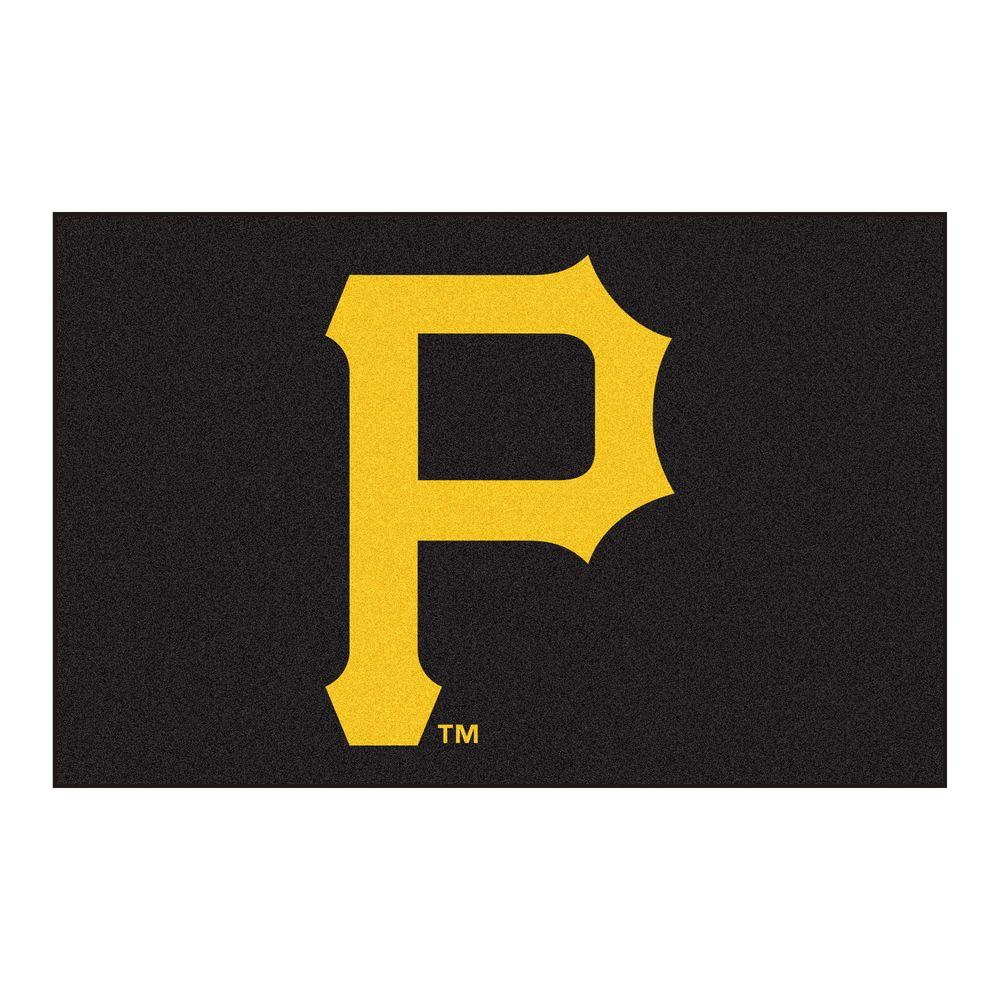 FANMATS Pittsburgh Pirates 1 ft. 7 in. x 2 ft. 6 in. Accent Rug
