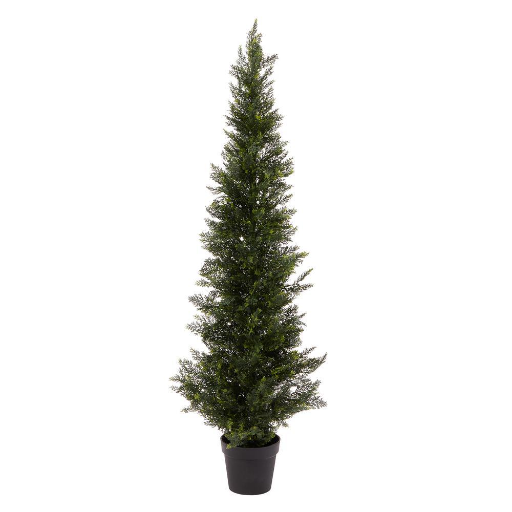 60 in. Artificial Cedar Topiary