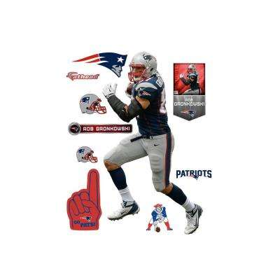77 in. H x 42 in. W Rob Gronkowski Wall Mural