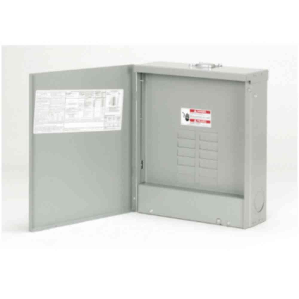 Eaton BR 125 Amp 12-Space 24-Circuit Outdoor Main Lug Loadcenter ...