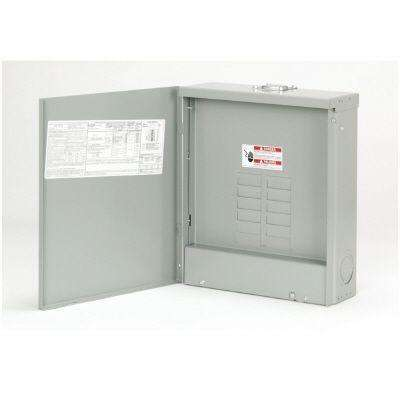 BR 125 Amp 12-Space 24-Circuit Outdoor Main Lug Loadcenter with Cover