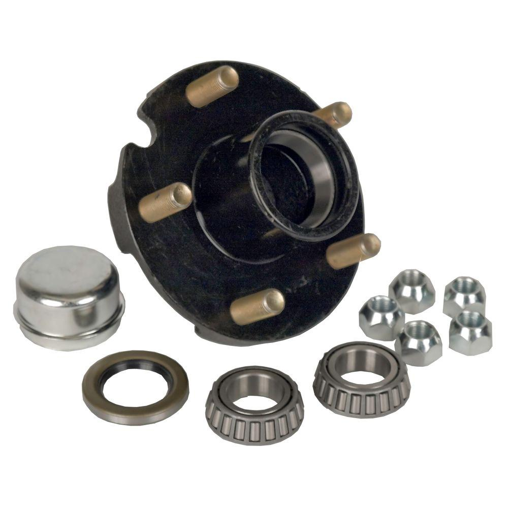 5-Bolt Hub Repair Kit for 1 in. Axle Pressed Stud for