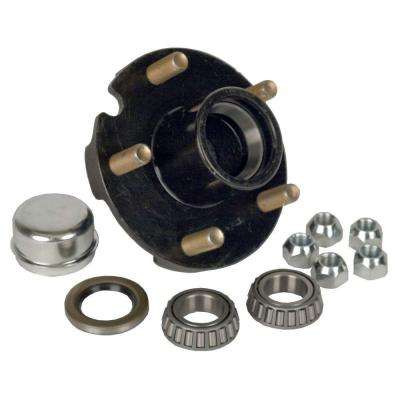 5-Bolt Hub Repair Kit for 1 in. Axle Pressed Stud for Trailers