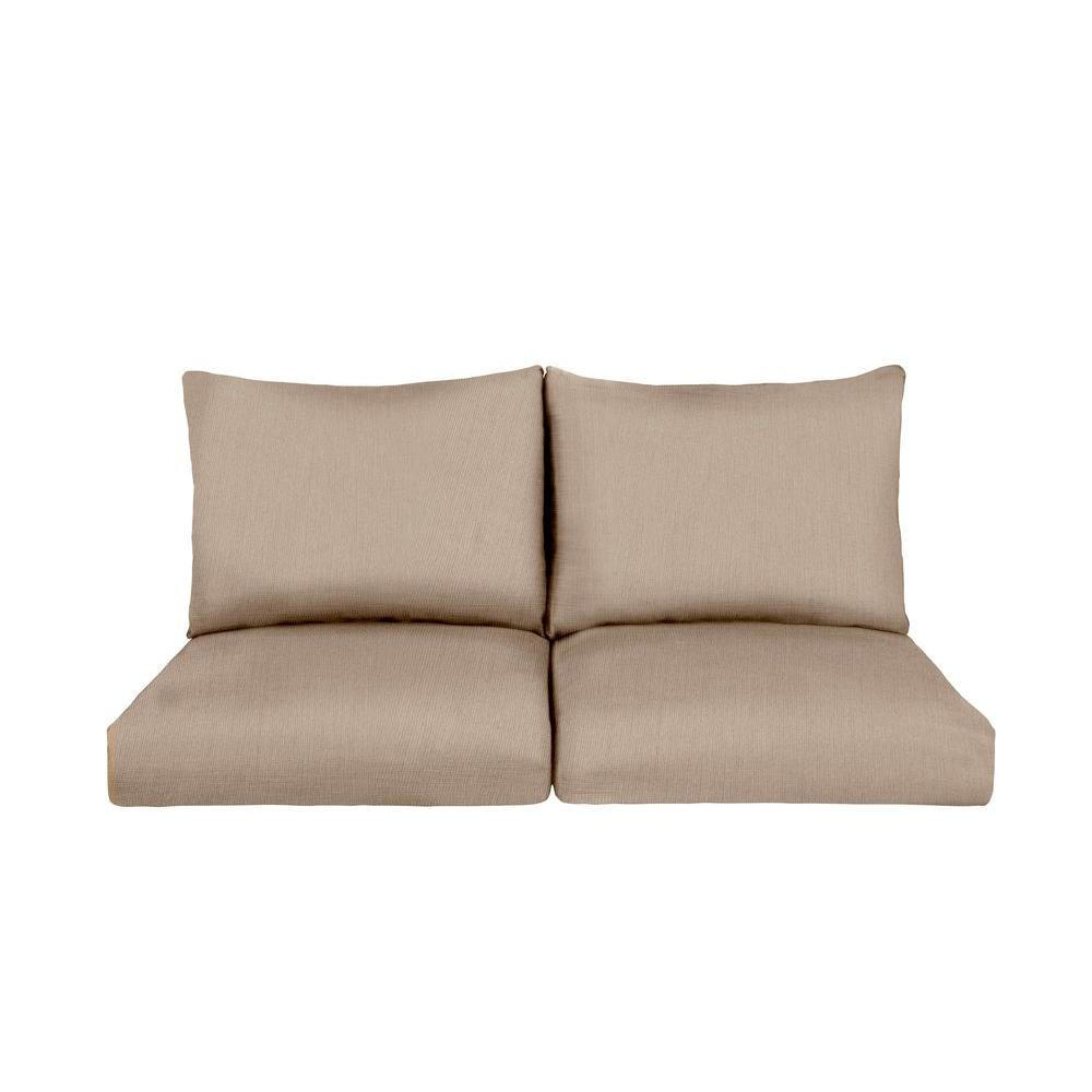 Marquis Replacement Outdoor Loveseat Cushion in Sparrow