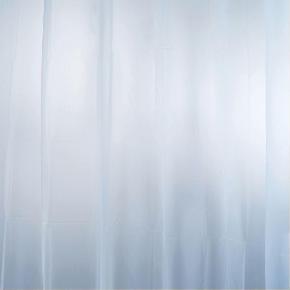 InterDesign EVA Shower Curtain Liner In Mist Blue