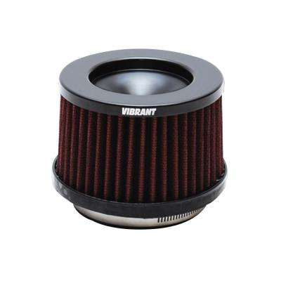 The Classic Perf Air Filter 4.75in O.D. Cone x 3-1/2in Tall x 3in inlet I.D. Turbo Outlets