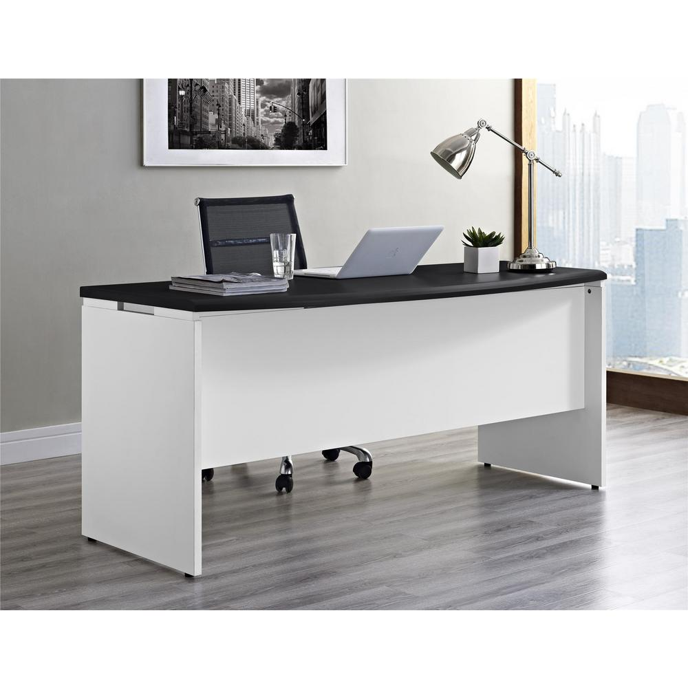Altra Furniture Altra Pursuit White And Gray Desk With