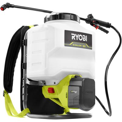 ONE+ 18-Volt 4 Gal. Lithium-Ion Cordless Backpack Chemical Sprayer with Battery and Charger Not Included