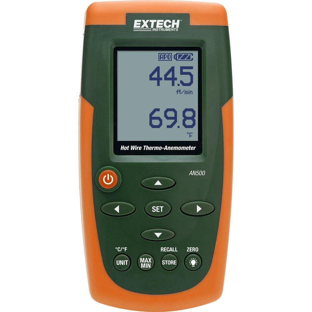 Extech Instruments Hot Wire CFM/CMM Thermo-Anemometer