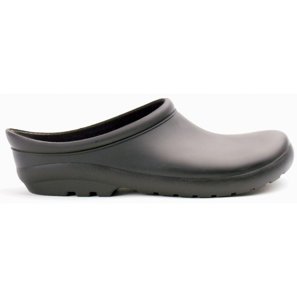 Size 7 Black Premium Garden Clog Shoes