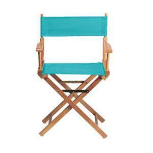 Home Decorators Collection Teal Director 39 S Chair Cover 0351700670 The Home Depot