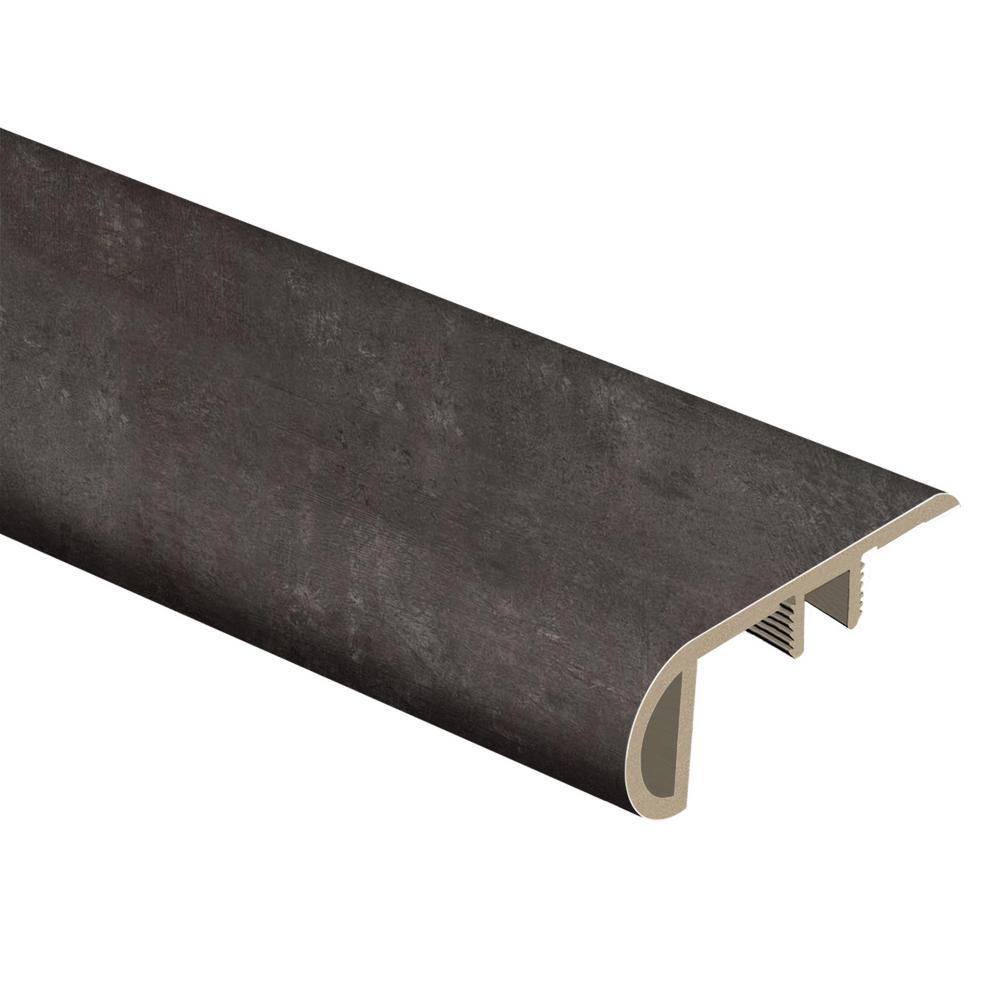 Zamma Castle Black Slate 1 In T X 2 1 2 In W X 94 In L