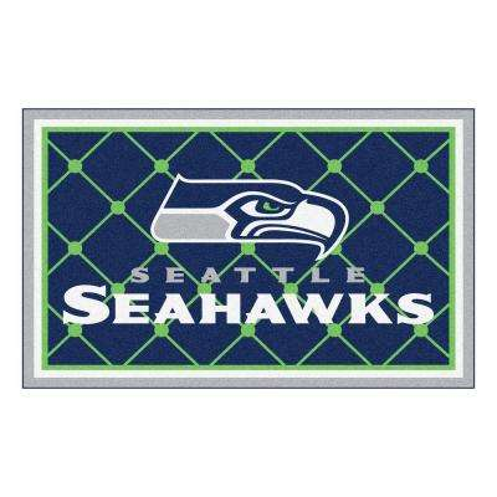 Seattle Seahawks 4 ft. x 6 ft. Area Rug