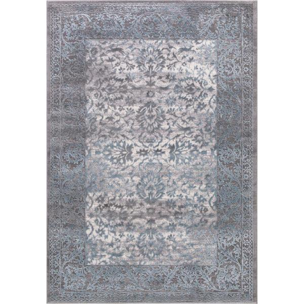 Thema Vintage Teal 7 ft. x 9 ft. Area Rug