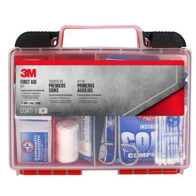 118-Piece Industrial Construction First Aid Kit