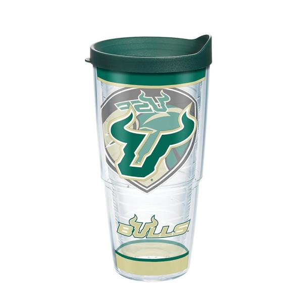 Tervis University Of South Florida Tradition 24 Oz Double Walled Insulated Tumbler With Lid 1343762 The Home Depot