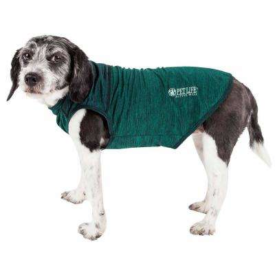 Large Green Active Aero-Pawlse Quick-Dry and Performance Dog Tank Top T-Shirt