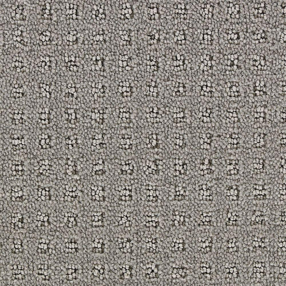 Martha Stewart Living Springwood Cement Gray - 6 in. x 9 in. Take Home Carpet Sample