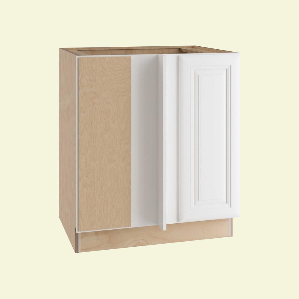 Brookfield Assembled 30x34.5x24 in. Single Door Hinge Left Base Kitchen Blind